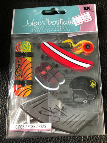 SKATEBOARD - Jolees boutique stickers