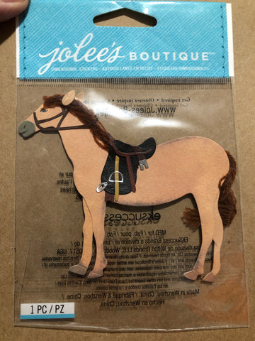 HORSE - Jolee's Boutique Stickers