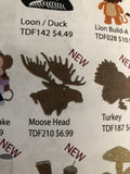 MOOSE HEAD DIES - DIES TO DIE FOR