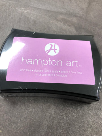 PURPLE INK PAD - HAMPTON ARTS