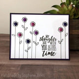 SYMPATHY SENTIMENTS STAMP SET - Gina Marie Designs