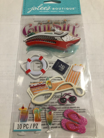 CRUISE CRUSIN - Jolee's Boutique Stickers