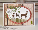 DEER FAMILY DIE SET - Gina Marie Designs