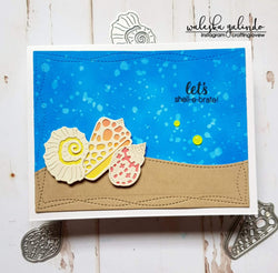 SEA SHELL AND ANCHOR DIE SET - Gina Marie Designs