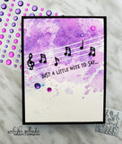 MINI MUSIC NOTES DIE - Gina Marie Designs