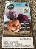 SIZZIX FRAMELITS DIE SET DAVID TUTERA PAPER FLOWERS - ROSE