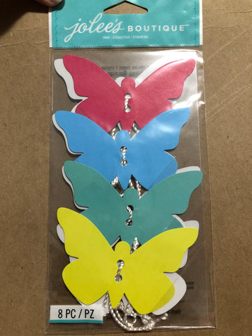 BUTTERFLY TAGS - Jolee's Boutique Stickers
