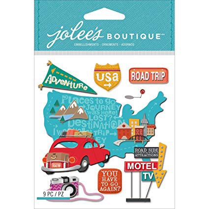 MEDIUM ROAD TRIP - Jolee's Boutique Stickers