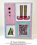 ELF THEMED STAMP SET - Gina Marie Designs