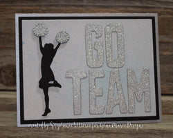 CHEERLEADERS DIE SET - Gina Marie Designs