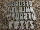 WHISKEY BOTTLE FONT ALPHABET - Gina Marie Designs