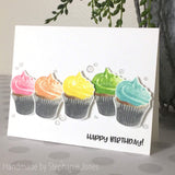 LAYERED CUPCAKE STAMP SET - Gina Marie Designs