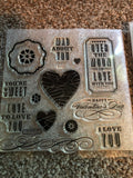 MAD ABOUT YOU - CLOSE TO MY HEART STAMPS