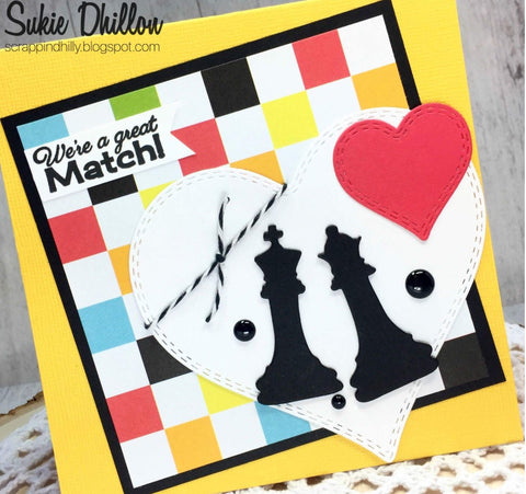 CHECK MATE CHESS DIES - Gina Marie Designs
