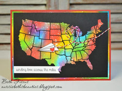 USA MAP DIE SET - Gina Marie Designs