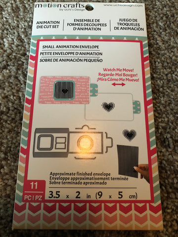 MOTION CRAFTS AMERICAN CRAFTS - ANIMATION CAMERA STAMP AND DIE SET