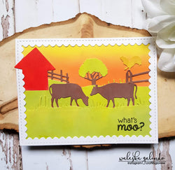 FARM LIFE BORDER DIES - Gina Marie Designs