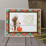 HARVEST PUMPKIN STAMP SET - GINA MARIE DESIGNS