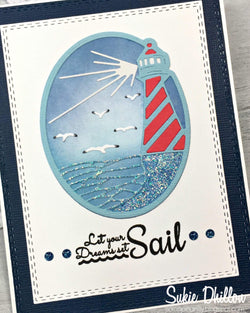 LIGHTHOUSE DIE SET - Gina Marie Designs