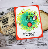 GRINCH THEMED STAMP SET - Gina Marie Designs