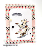 UDDERLY FANTASTIC - ART IMPRESSIONS CLEAR STAMPS BY BONNIE KREBS