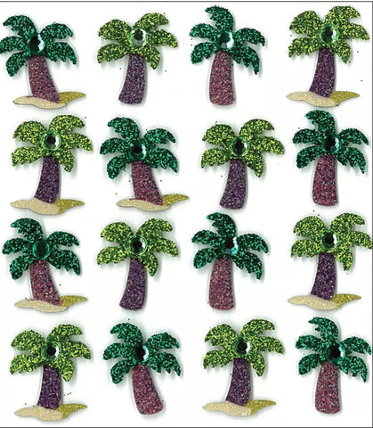 PALM TREE REPEATS - Jolee's Boutique Stickers