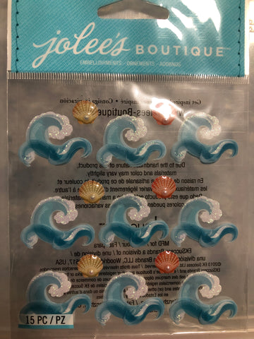 WAVE REPEATS - Jolee's Boutique Stickers