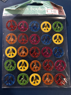PEACE SIGNS REPEATS - Jolee's Boutique Stickers