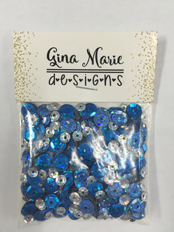 GLITTER SNOW SEQUIN MIX - Gina Marie Designs