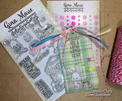 EASTER BUNNY STAMP SET - Gina Marie Designs