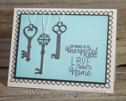 3 ANTIQUE KEY DIES - GINA MARIE DESIGNS