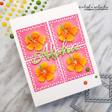 MOSAIC TRIANGLE EDGE SQUARE DIE SET - Gina Marie Designs