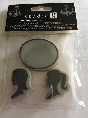 SILHOUETTE STAMPS vs4911 - STUDIO G CLING STAMPS