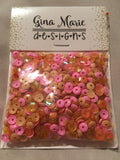 GEORGIA PEACH SEQUIN MIX - Gina Marie Designs