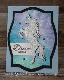 UNICORN DIE - Gina Marie Designs