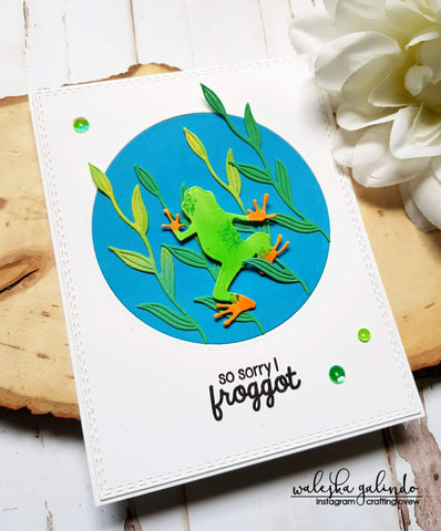 TREE FROG DIE - Gina Marie Designs