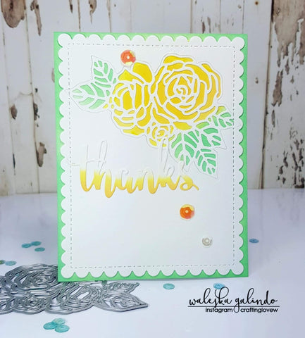 BLOOMS OF ROSES DIE - Gina Marie Designs