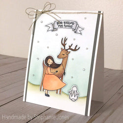 FOREST FRIENDS STAMP SET - Gina Marie Designs