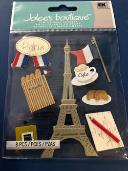 PARIS (original style) - Jolee's Boutique Stickers