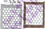 CHICKEN WIRE DIE SET - DIES TO DIE FOR