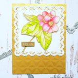 FRILLY LACE NESTED SQUARE DIE SET - Gina Marie Designs