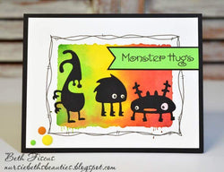 LITTLE MONSTERS DIES - GINA MARIE DESIGNS