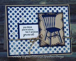 SET OF 2 CHAIR DIES (country & modern) - Gina Marie Designs