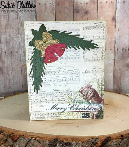 CORNER PINE SWAG AND BELLS DIES - GINA MARIE DESIGNS