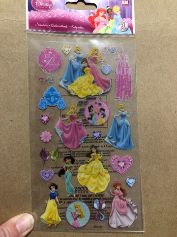 TRUE PRINCESS STICKO STYLE - Jolee's Boutique Stickers