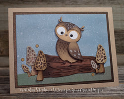LAYERED OWL DIE SET - Gina Marie Designs