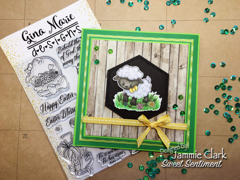 LAMB OF GOD STAMP SET - Gina Marie Designs