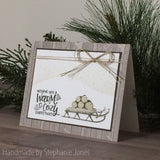 SLED LAYERED STAMP SET - Gina Marie Designs
