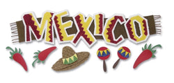 MEXICO TITLEWAVE - Jolee's Boutique Stickers