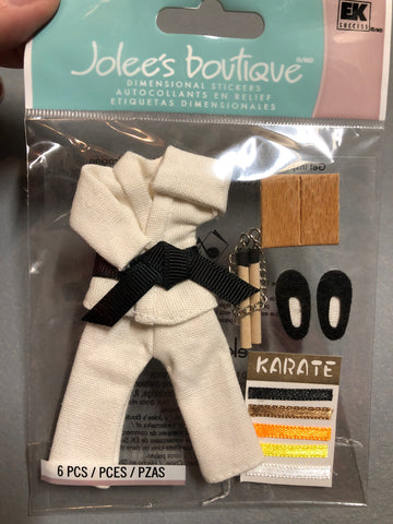 KARATE - Jolee's Boutique Stickers